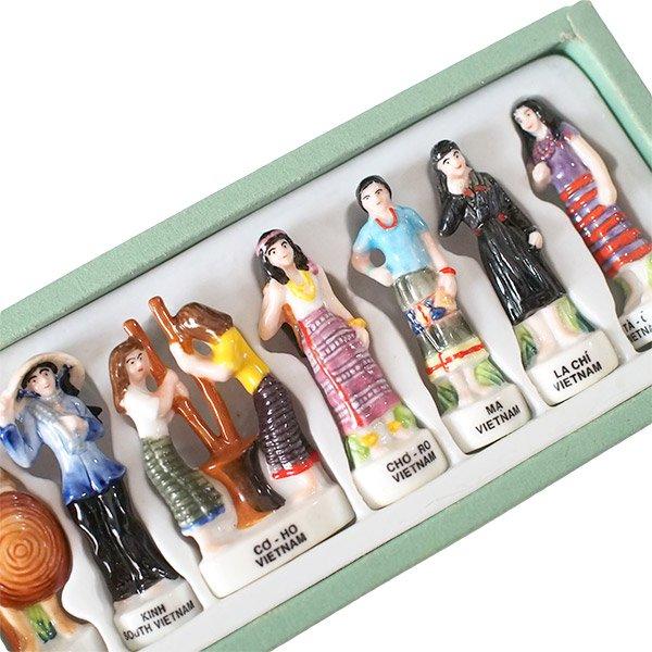 ベトナム ミンロン社  フェーブ 少数民族 人形(1つ売り)【画像2】