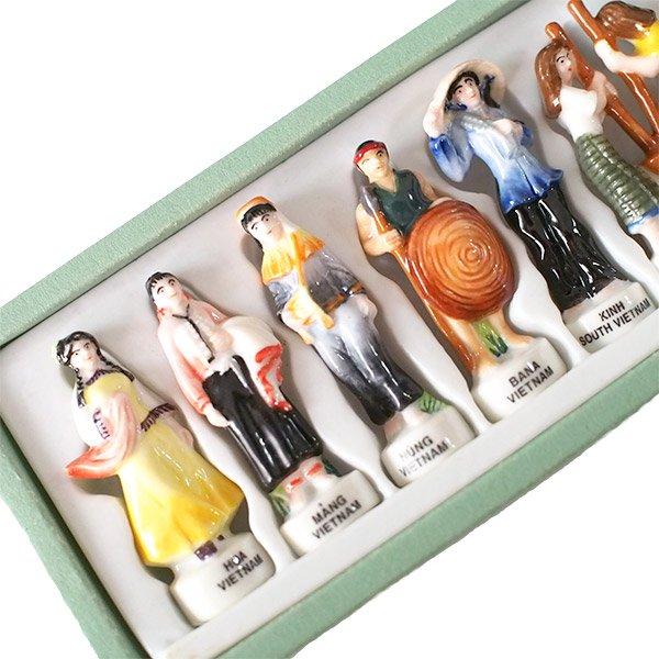 ベトナム ミンロン社  フェーブ 少数民族 人形(1つ売り)【画像3】