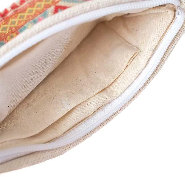 ベトナム モン族 刺繍 ポーチ(タッセル付き 長方形 A)【画像4】