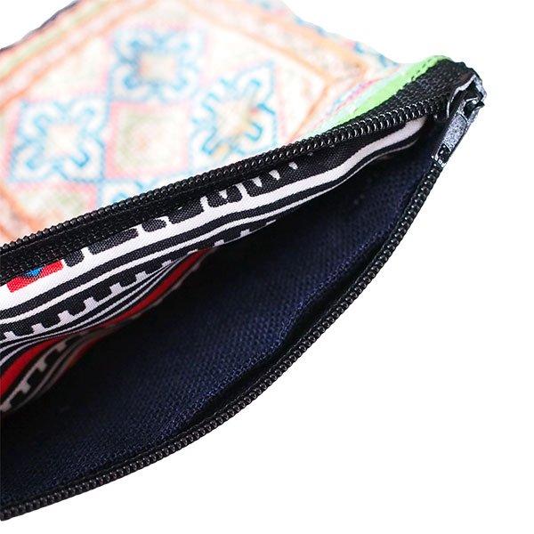 ベトナム モン族 古布 刺繍 ポーチ(長方形 B)【画像4】