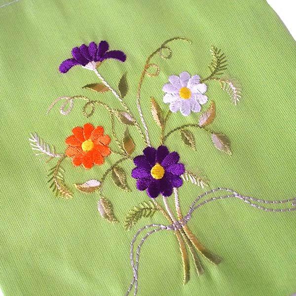 ベトナム 刺繍 巾着