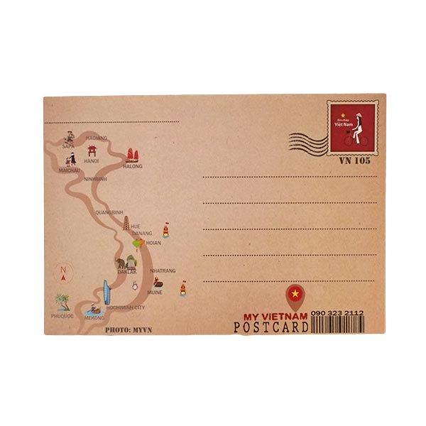 ベトナム ポストカード(ランタンB)【画像2】