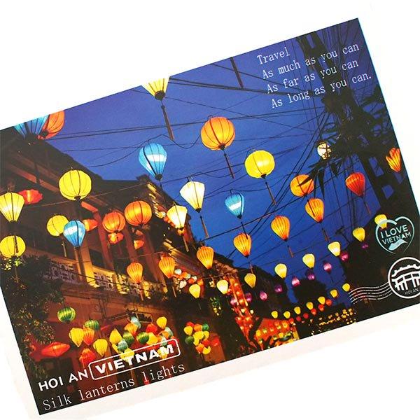 ベトナム ポストカード(ランタン C)【画像2】