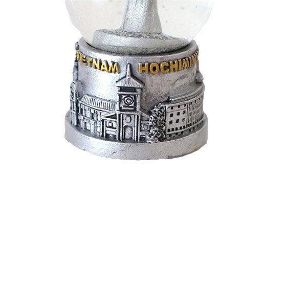 ベトナム ホーチミン スノードーム(アオザイ 高さ約7cm)【画像3】