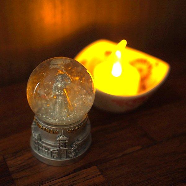 ベトナム ホーチミン スノードーム(アオザイ 高さ約7cm)【画像5】