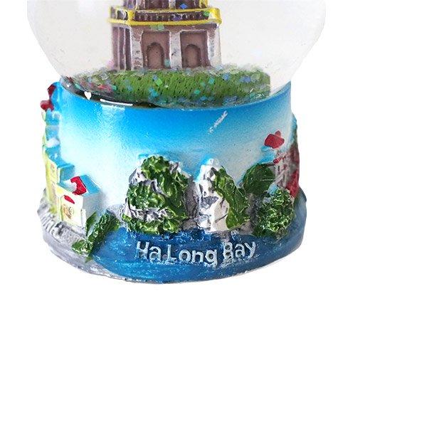 ベトナム スノードーム(ハノイ ホアンキエム湖 亀の塔 高さ約9cm)【画像3】