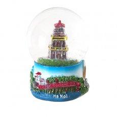 ベトナム ハノイ スノードーム(ホアンキエム湖 亀の塔 高さ約9cm)