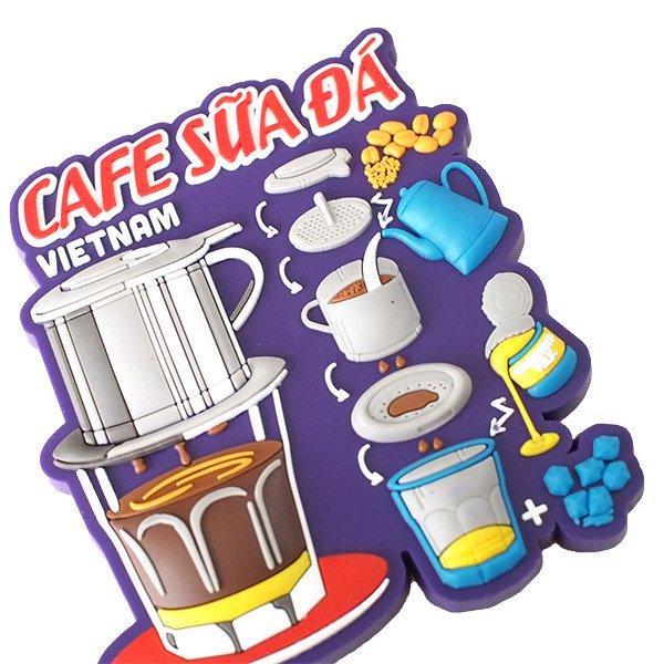 ベトナム マグネット(アイスミルクコーヒー)【画像4】