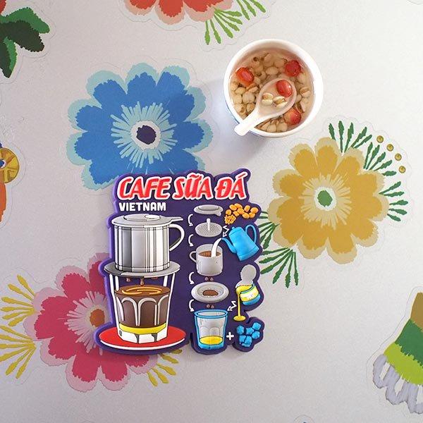 ベトナム マグネット(アイスミルクコーヒー)【画像5】