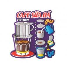 ベトナム マグネット(アイスミルクコーヒー)