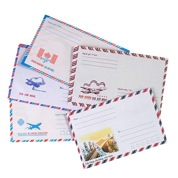ベトナム エアメイルの封筒(5種セット)