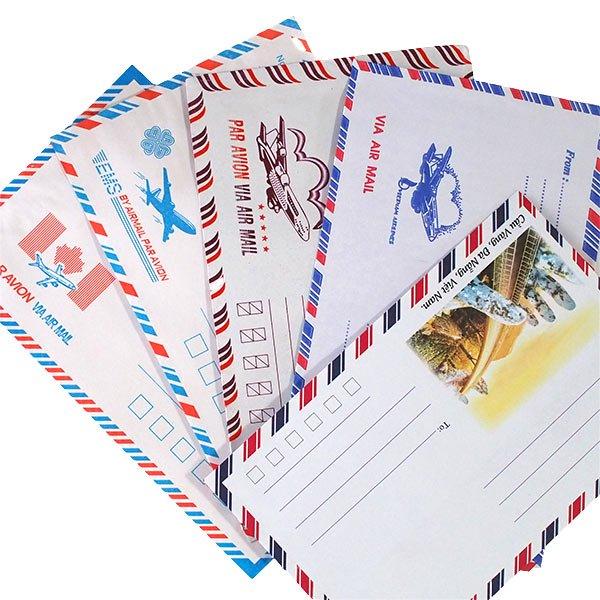 ベトナム エアメイルの封筒(5枚セット)【画像4】