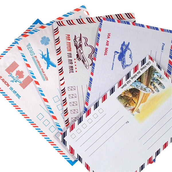 ベトナム エアメイルの封筒(5種セット)【画像4】