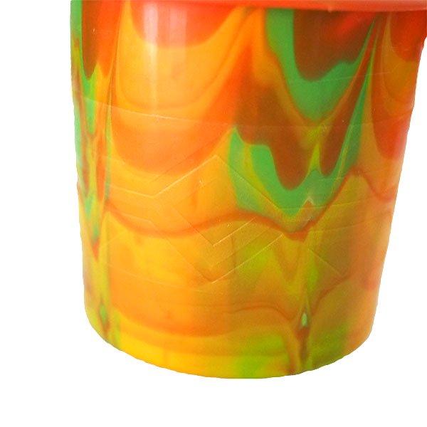 セネガル プラスチックコップ(0.4リットル オレンジ)【画像3】