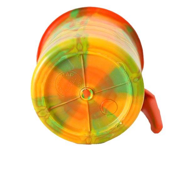 セネガル プラスチックコップ(0.4リットル オレンジ)【画像4】