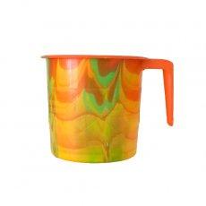 セネガル プラスチックコップ(0.4リットル オレンジ)