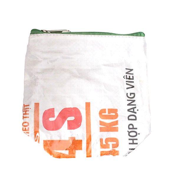 ベトナム 飼料袋 リメイク ポーチ(NEW サイズ ブタ)【画像2】