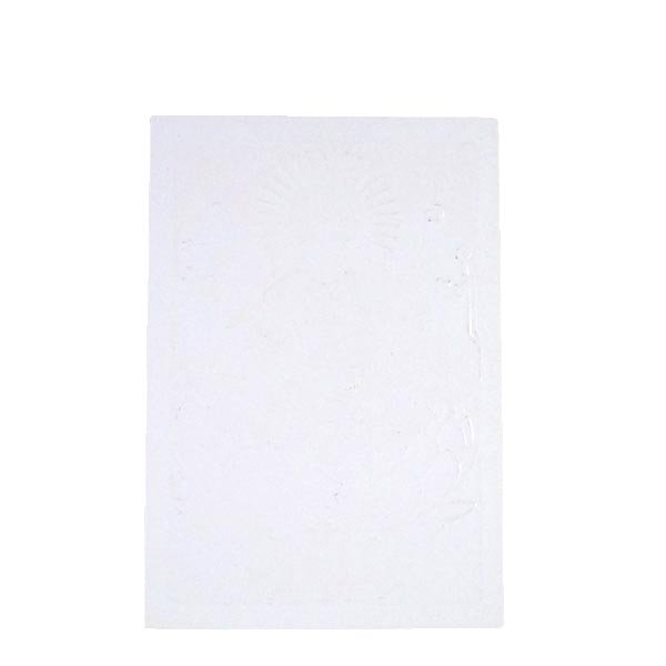 インド 神様 ポストカード(ラクシュミー オレンジ)【画像2】