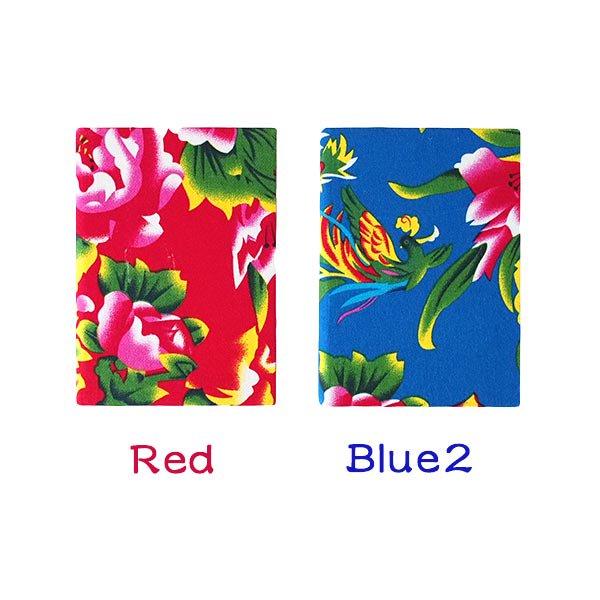 ベトナム 孔雀と牡丹 ノート(5色)【画像3】