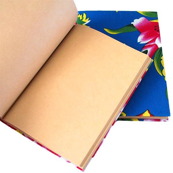 ベトナム 孔雀と牡丹 ノート(5色)【画像4】