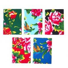 ベトナム 孔雀と牡丹 ノート(5色)