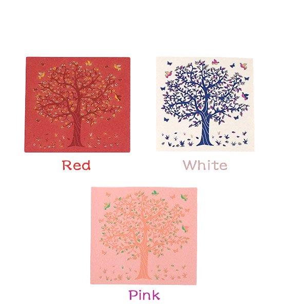 インド  chimanlals (チマンラール) メッセージカード KALPAVRIKSH  (5色 封筒付き)【画像2】
