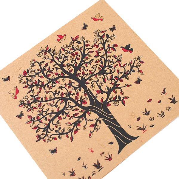 インド  chimanlals (チマンラール) メッセージカード KALPAVRIKSH  (5色 封筒付き)【画像4】
