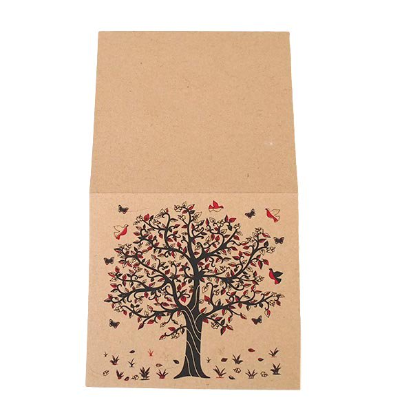 インド  chimanlals (チマンラール) メッセージカード KALPAVRIKSH  (5色 封筒付き)【画像5】