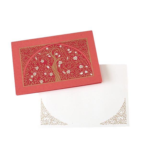 インド  chimanlals (チマンラール) メッセージカード UPAVAN  (5色 封筒付き)【画像7】