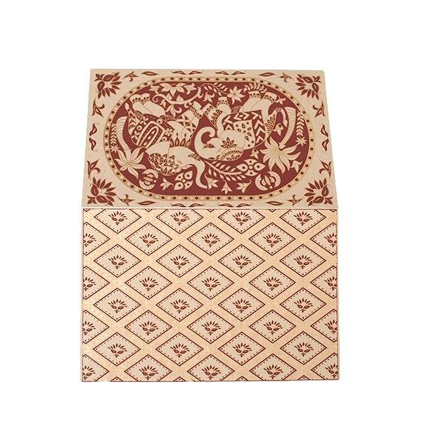 インド  chimanlals (チマンラール) メッセージカード KARINDA  (5色 封筒付き)【画像6】