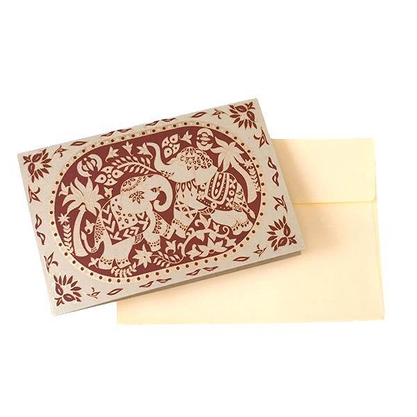 インド  chimanlals (チマンラール) メッセージカード KARINDA  (5色 封筒付き)【画像8】
