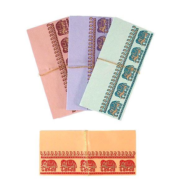 インド chimanlals(チマンラール) 封筒 GAMINI ゾウ C