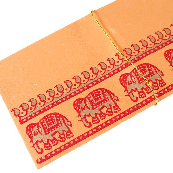 インド Chimanlals の封筒(ぞう 5色)