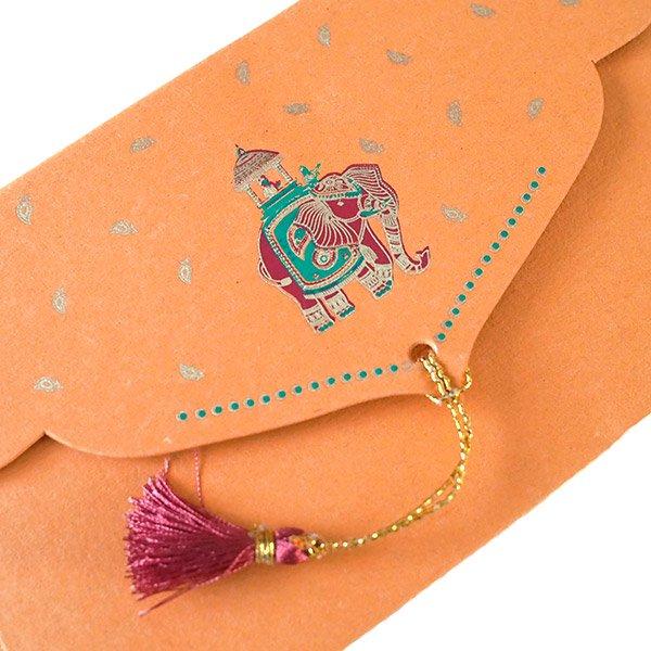 インド chimanlals(チマンラール)封筒 KUNJAR(ゾウ 5色)【画像5】
