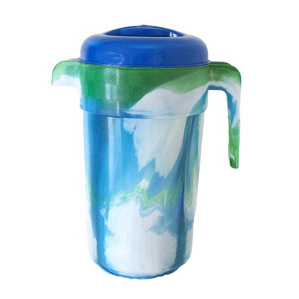 セネガル プラスチックの水さし(グリーン)