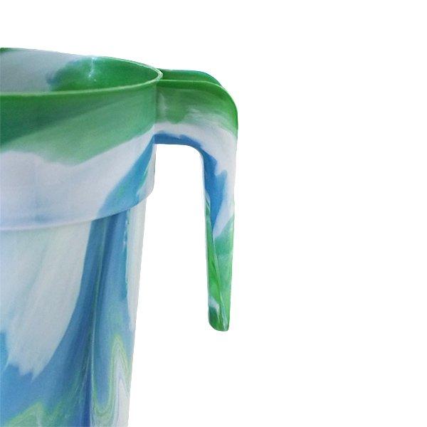 セネガル プラスチックの水さし(グリーン)【画像3】