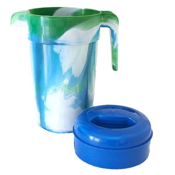 セネガル プラスチックの水さし(グリーン)【画像4】