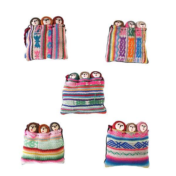 世界のお守り ペルー 幸せを運んでくれる チョリータス人形