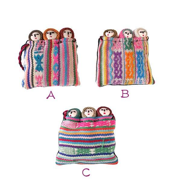 世界のお守り ペルー 幸せを運んでくれる チョリータス人形【画像3】