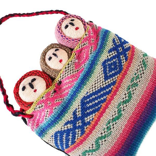 世界のお守り ペルー 幸せを運んでくれる チョリータス人形【画像5】
