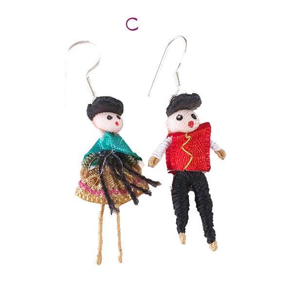 ペルー Cholita (チョリータ)ピアス【画像4】