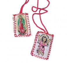 メキシコ 雑貨 世界のお守り メキシコ エスカプラーリオ (グアダルーペ&ニーニョディビーノ)