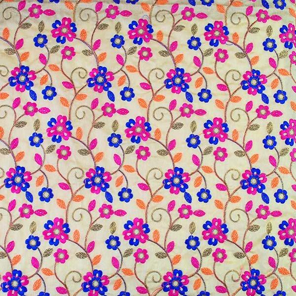 インド ラジャスタンの刺繍布