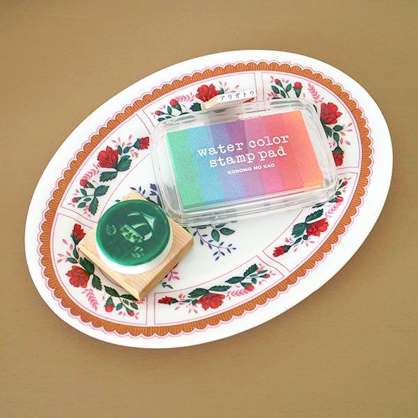 ベトナム 花柄 プラスチック 皿 (楕円 横約25cm)【画像5】