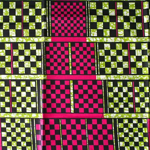 アフリカン プリント布 パーニュ 115×90 カットオフ(四角)