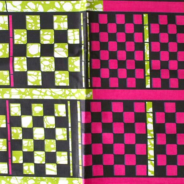 アフリカン プリント布 パーニュ 115×90 カットオフ(四角)【画像2】