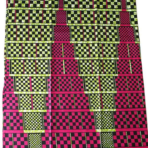 アフリカン プリント布 パーニュ 115×90 カットオフ(四角)【画像4】