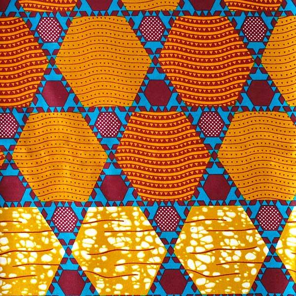 アフリカン プリント布 パーニュ 115×90 カットオフ(いろいろな模様)【画像2】