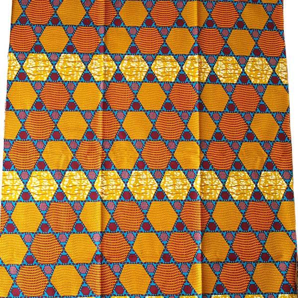 アフリカン プリント布 パーニュ 115×90 カットオフ(いろいろな模様)【画像4】