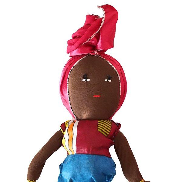 コートジボワール タオル 人形(タオルカラー ピンク)【画像3】